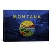 iCanvas Flags Montana Glacier National Park Graphic Art on Canvas