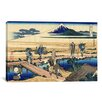iCanvas 'Nakahara in the Sagami Province' by Katsushika Hokusai Painting Print on Canvas