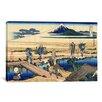 iCanvasArt 'Nakahara in the Sagami Province' by Katsushika Hokusai Painting Print on Canvas