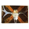 iCanvas Canada Moose Skull Graphic Art on Canvas