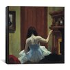 "<strong>iCanvasArt</strong> ""New York Interior"" Canvas Wall Art by Edward Hopper"