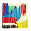 iCanvas Modern Art Weeping Colors Graphic Art on Canvas