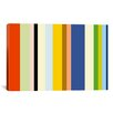 iCanvas 'New York Soho Striped' Graphic Art on Canvas