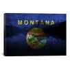 iCanvas Flags Montana Lake McDonald Graphic Art on Canvas