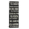 iCanvasArt Typography 'Rome Streets From Willow Way Studios, Inc' Textual Art on Canvas