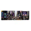 iCanvasArt Panoramic 'New York Skyline Cityscape (Times Square - Day)' Photographic Print on Canvas