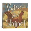 "iCanvas ""Rise and Shine"" Canvas Wall Art by Daphne Brissonnet"