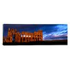 <strong>iCanvasArt</strong> Panoramic Whitby Abbey, North Yorkshire, England Photographic Print on Canvas