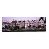 iCanvas Panoramic Postcard Row, Alamo Square, San Francisco California Photographic Print on Canvas