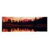 iCanvasArt Panoramic Tipsoo Lake, Mt Rainier National Park, Washington State Photographic Print on Canvas