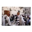 iCanvas Jewish 'Praying at The Westren Wall' Photographic Print on Canvas