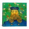 "iCanvas ""Portrait of Joseph Roulin"" Canvas Wall Art by Vincent van Gogh"
