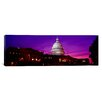 iCanvas Panoramic Capitol Building, Washington D.C. Photographic Print on Canvas