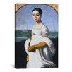 iCanvas 'Portrait De Mademoiselle Riviere' by Jean Auguste Ingres Painting Print on Canvas
