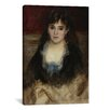 iCanvas 'Portrait De Nini 1874' by Pierre-Auguste Renoir Painting Print on Canvas