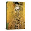 <strong>iCanvasArt</strong> 'Portrait of Adele Bloch-Bauer I' by Gustav Klimt Painting Print on Canvas
