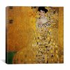 iCanvasArt 'Portrait of Adele Bloch-Bauer I' by Gustav Klimt Painting Print on Canvas