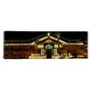 iCanvasArt Panoramic House Decorated with Christmas Lights, Phoenix, Arizona Photographic Print on Canvas