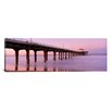 <strong>iCanvasArt</strong> Panoramic Manhattan Beach Pier, Manhattan Beach, California Photographic Print on Canvas