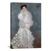 iCanvas 'Portrait of Hermine Gallia' by Gustav Klimt Painting Print on Canvas