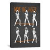 iCanvas Move Like Jagger by Maximilian San Graphic Art on Canvas in Black