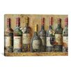 iCanvas Decorative Art 'Wine Collection I from NBL Studio' Painting Print on Canvas