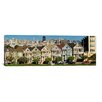 iCanvas Panoramic 'Famous row of Victorian Houses called Painted Ladies, San Francisco, California' Photographic Print on Canvas