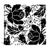 iCanvasArt Grapes and Buds by Mindy Sommers Graphic Art on Canvas in Black / White