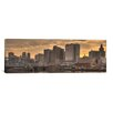 iCanvas Panoramic Newark Skyline Cityscape Photographic Print on Canvas in Sunset