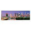 iCanvas Philadelphia, Pennsylvania Panoramic Night Skyline,  Photographic Print on Canvas in Night