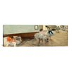 iCanvasArt 'The Dance Lesson' by Edgar Degas Painting Print on Canvas