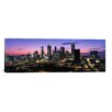 iCanvas Panoramic Skyscrapers in a City, Atlanta, Georgia Photographic Print on Canvas in Multi-color