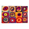 iCanvas 'Squares with Concentric Circles' by Wassily Kandinsky Painting Print on Canvas