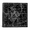 iCanvas Celestial Atlas - Plate 9 (Ophiuchus, Serpens) by Alexander Jamieson Graphic Art on Canvas in Black