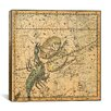 iCanvas Celestial Atlas - Plate 19 (Libra, Scorpio) by Alexander Jamieson Graphic Art on Canvas in Beige
