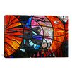 <strong>iCanvasArt</strong> Photography Stained Glass Window Graphic Art on Canvas
