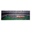 iCanvas Panoramic Spectator Watching a Football Match, Veterans Stadium, Philadelphia, Pennsylvania Photographic Print on Canvas