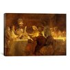 iCanvasArt 'The Conspiracy of the Batavians under Claudius Civilis' by Rembrandt Painting Print on Canvas