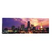 iCanvasArt Cleveland Panoramic Skyline Cityscape Photographic Print on Canvas in Multi-color