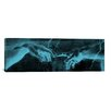 iCanvasArt 'The Creation of Adam III Panoramic' by Michelangelo Painting Print on Canvas