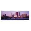 iCanvas Columbus Panoramic Skyline Cityscape Photographic Print on Canvas in Dusk