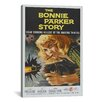 <strong>iCanvasArt</strong> Vintage Posters 'The Bonnie Parker Story' Vintage Advertisement on Canvas