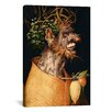<strong>iCanvasArt</strong> 'Winter' by Giuseppe Arcimboldo Painting Print on Canvas