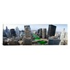 iCanvasArt Panoramic 'St. Patrick's Day Chicago IL' Photographic Print on Canvas