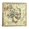 iCanvas Celestial Atlas - Plate 2 (Ursa Minor) by Alexander Jamieson Graphic Art on Canvas in Beige