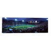 iCanvasArt Panoramic Spectators Watching Baseball Match, Los Angeles Dodgers, Los Angeles Memorial Coliseum, Los Angeles, California Photographic Print on Canvas