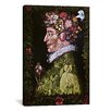 iCanvas 'Spring' by Giuseppe Arcimboldo Painting Print on Canvas