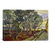 iCanvas 'The Garden of Saint Paul's Hospital' by Vincent Van Gogh Painting Print on Canvas