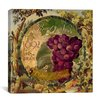 "iCanvas ""Wines of France (Grape)"" Canvas Wall Art by Color Bakery"