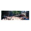 iCanvas Panoramic Faneuil Hall Marketplace, Quincy Market, Boston, Suffolk County, Massachusetts Photographic Print on Canvas